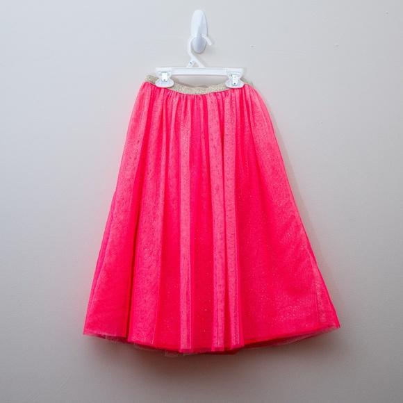 6b86809685 Cat & Jack Bottoms | Long Sparkly Tulle Skirt | Poshmark